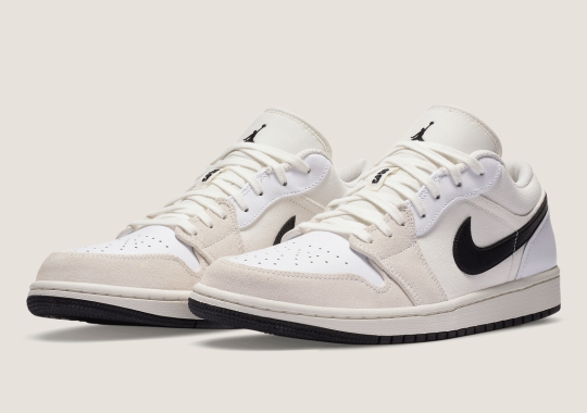 The Air Jordan 1 Low For Women Gets A Natural Look In White And Sail
