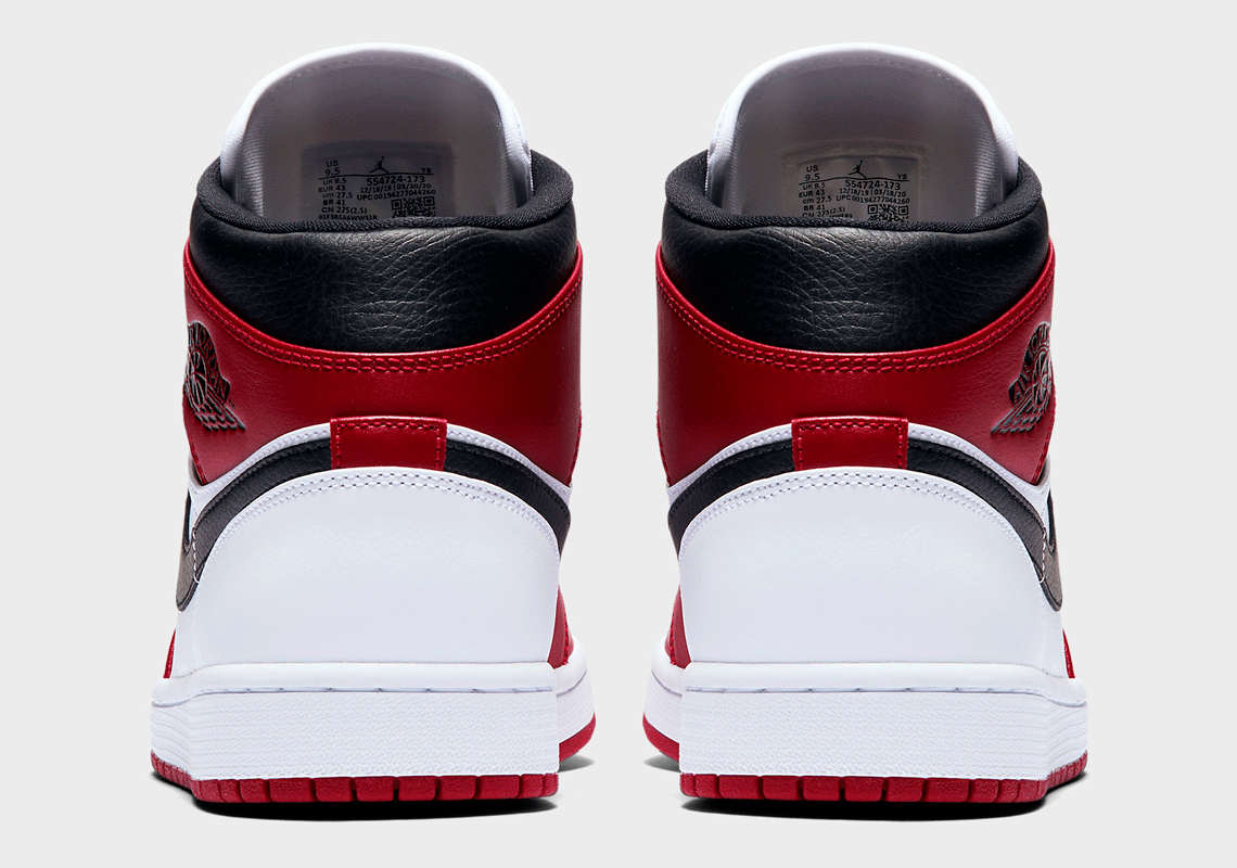 Air Jordan 1 Mid Chicago 554724-173 Release Date   SneakerNews.com
