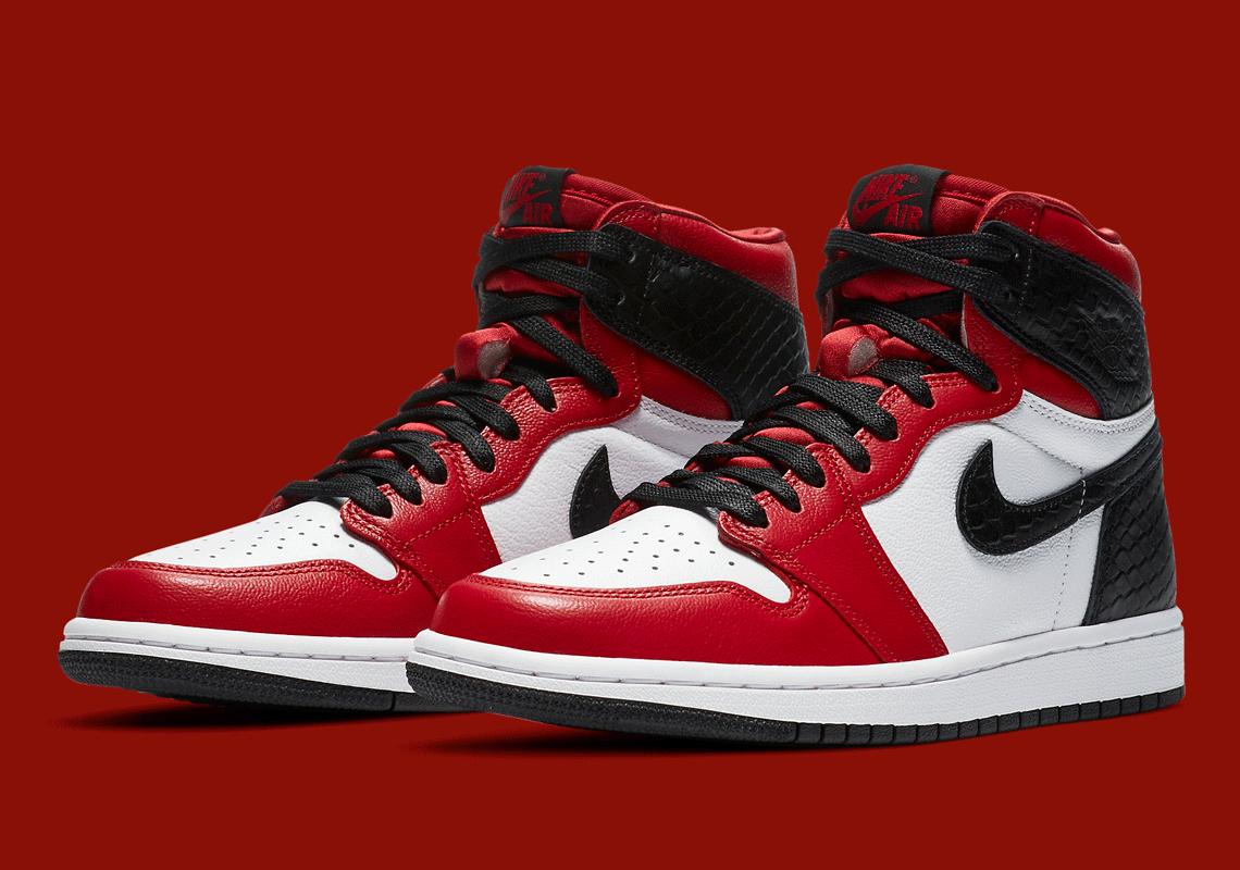 Air Jordan 1 Retro High Og Snakeskin Cd0461 601 Sneakernews Com
