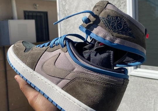 Air Jordan 1 High Switch Lets You Go From High To Low With Zippers