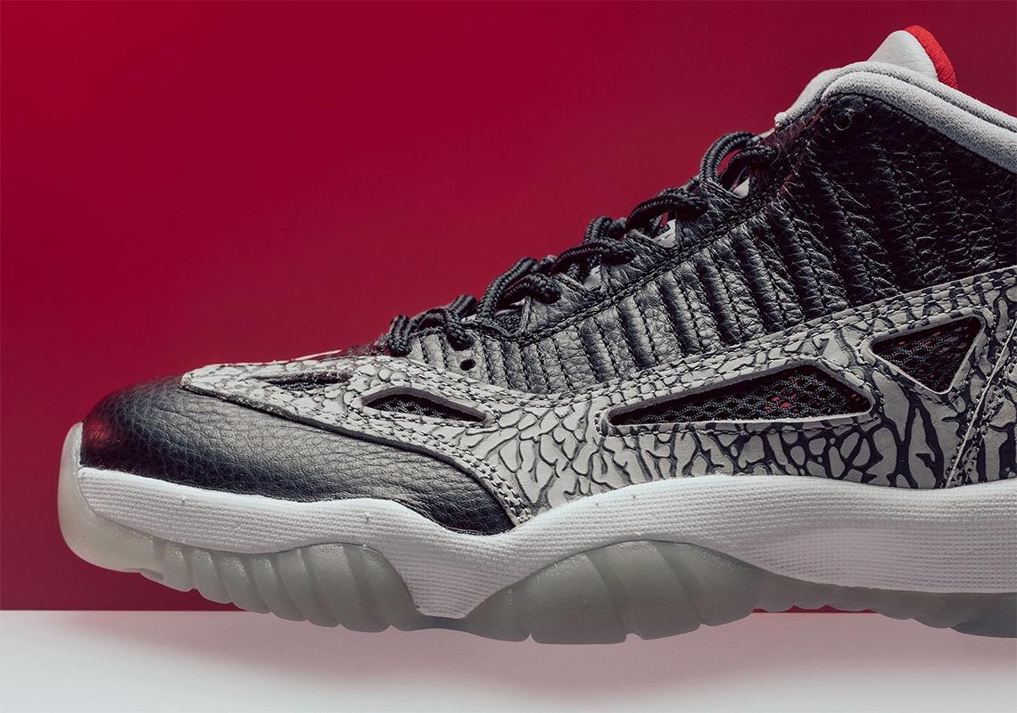 Air Jordan 11 Low Ie Black Cement Store List Sneakernews Com