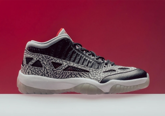 "Where To Buy The Air Jordan 11 Low IE ""Black Cement"""