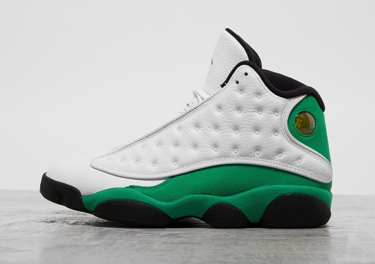 "Detailed Look At The Air Jordan 13 ""Lucky Green"""