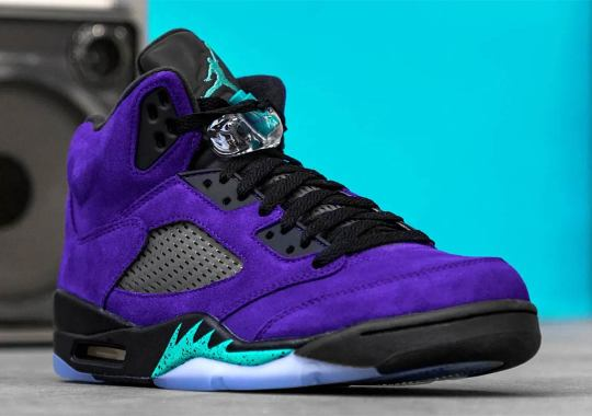 "Where To Buy The Air Jordan 5 ""Alternate Grape"""
