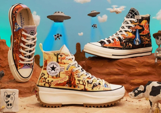 "Converse ""Twisted Resort"" Pack Remembers Infamous Roswell UFO Events"