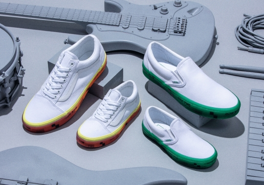 """Foot Locker Inc. And Vans Launch Second """"Off the ___"""" Collaboration"""