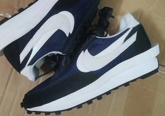 Closer Look At The Rumored Fragment Design x sacai x Nike LDWaffle
