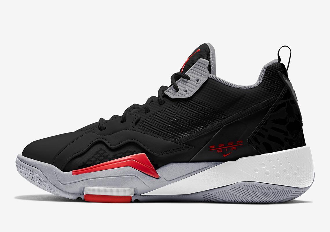 Jordan Zoom 92 Black Red CK9183-001 Release Info   SneakerNews.com