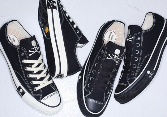 MASTERMIND Parades Their Skull And Crossbones Atop Two Converse Addict Chuck Taylors