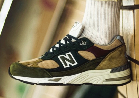 New Balance Is Offering Another 991 Made In UK Micro-Capsule In Irresistible Suedes