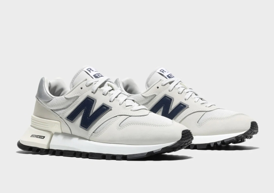 """The New Balance R_C 1300 Dresses Up In A Light """"Summer Fog"""""""