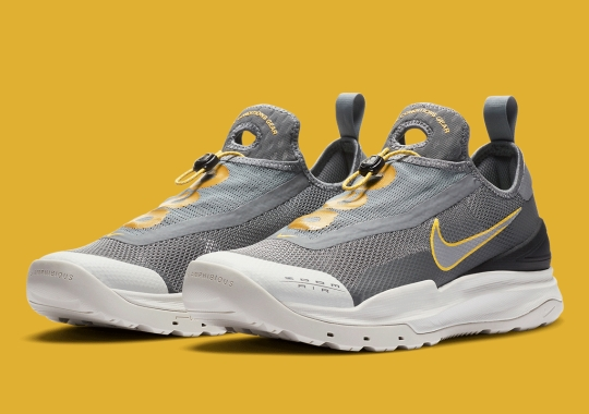 The Nike ACG Zoom AO Appears In A Grey And Yellow Mix