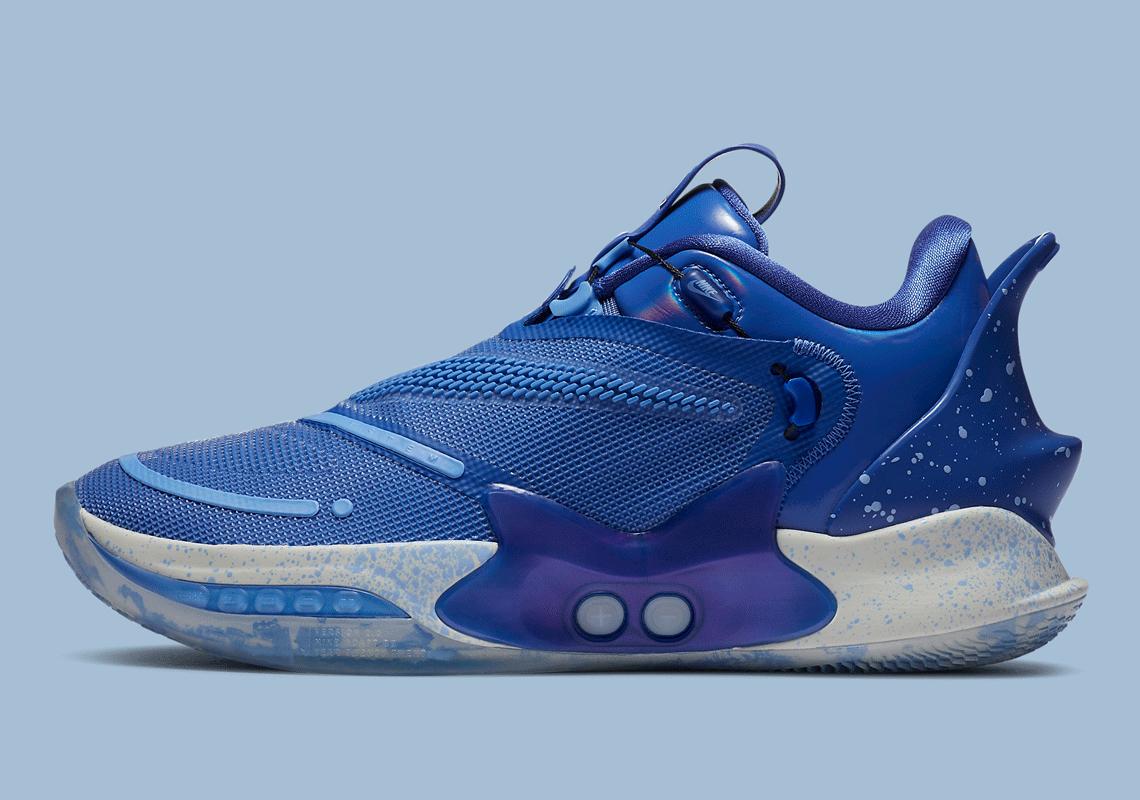 Nike Adapt Bb 2 0 Royal Blue Bq5397 400 Release Sneakernews Com