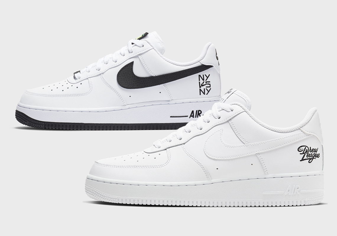 Nike Air Force 1 Drew League NY vs NY Release Date | SneakerNews.com