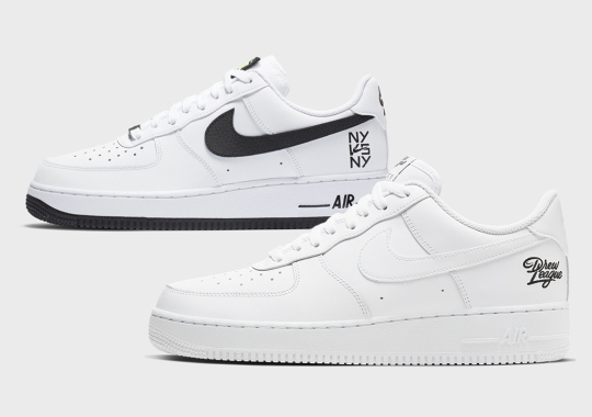 Nike Celebrates East Coast And West Coast Hoop Culture With The Air Force 1