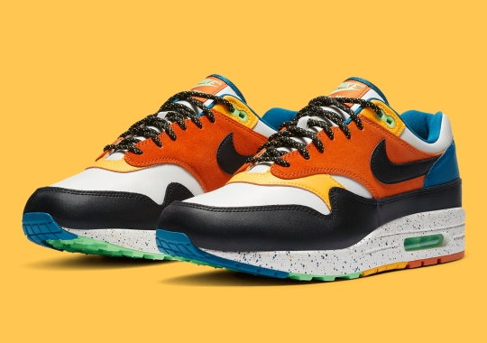 Heavy Trail Inspo Appears On This Nike Air Max 1