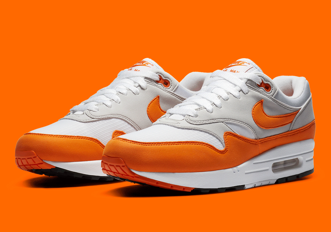 Nike Air Max 1 Anniversary Orange Dc1454 101 Info Sneakernews Com