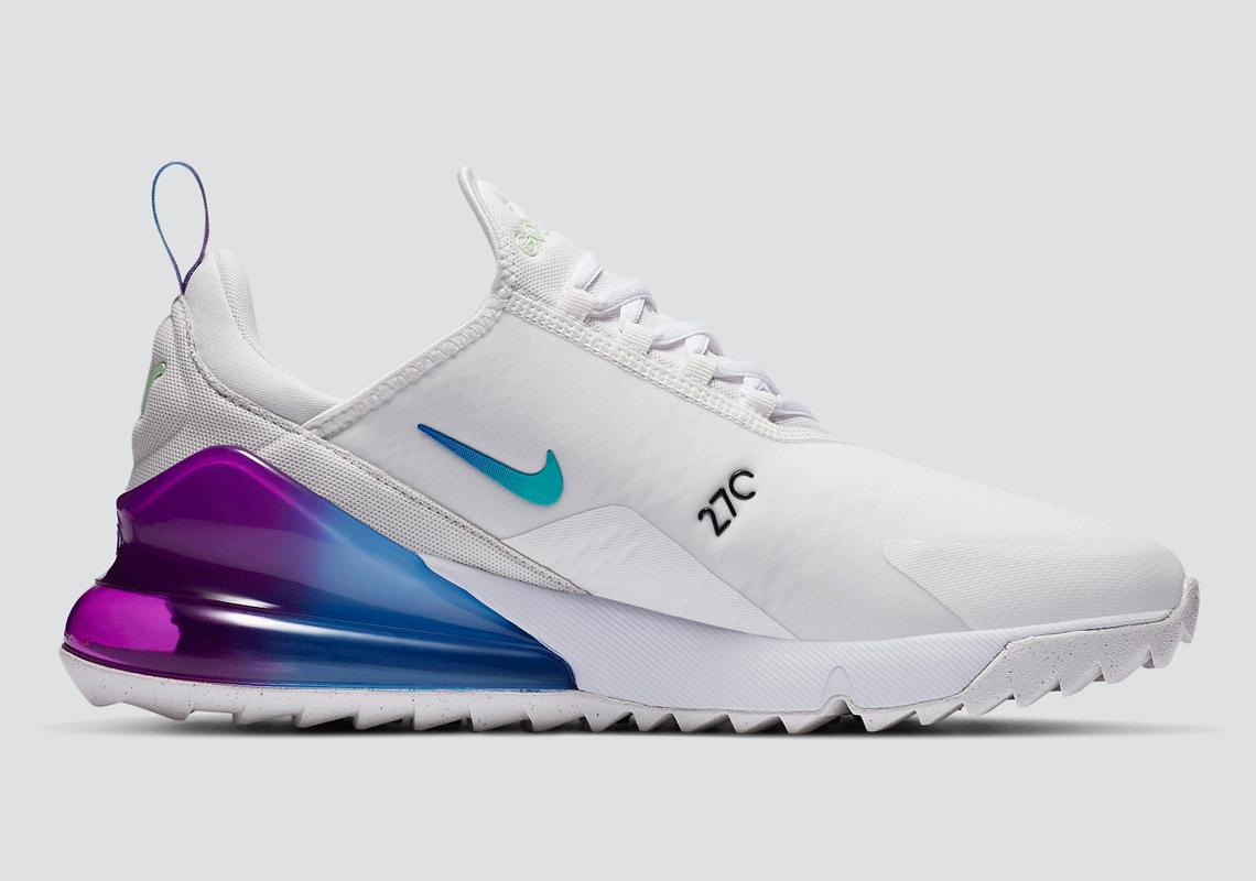 Nike Air Max 270 Golf Nrg Vivid Purple Cz4912 120 Sneakernews Com