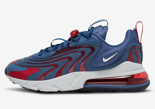 "The Nike Air Max 270 React ENG ""Mystic Navy"" Is Available Now"