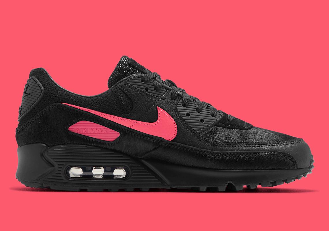 Nike Air Max 90 Black Exotic Print CZ5588-002   SneakerNews.com