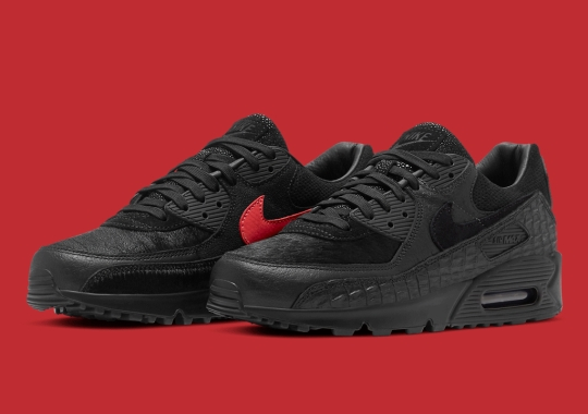 This Exotic Nike Air Max 90 Is Covered In Animal Skins