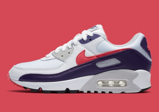 "Official Images Of The Nike Air Max 90 WMNS ""Eggplant"""