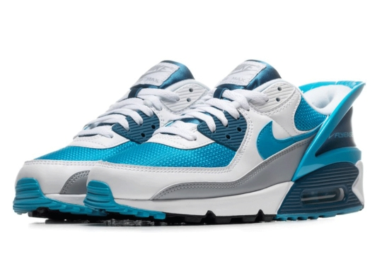 "The Nike Air Max 90 FlyEase Is Now Available In ""Laser Blue"""
