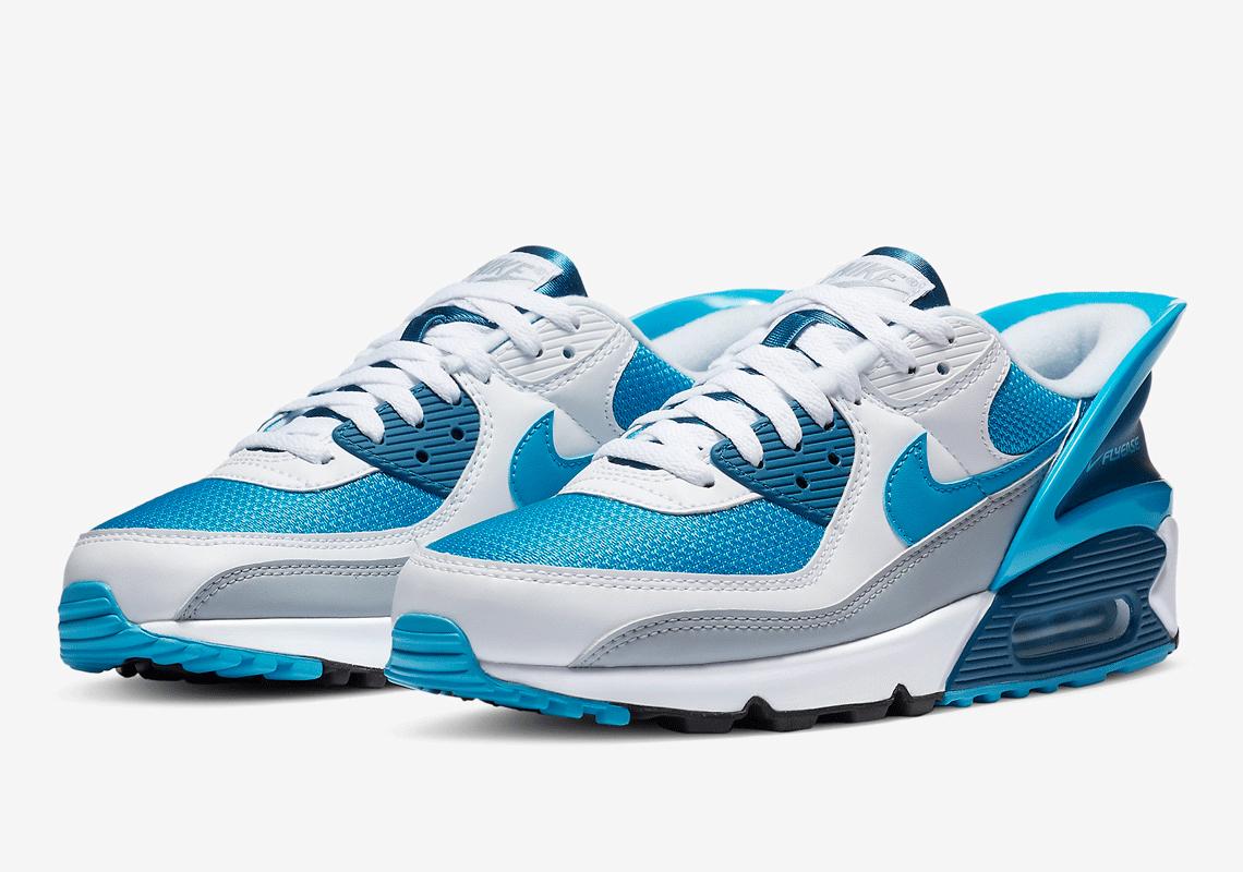 Nike Air Max 90 FlyEase Laser Blue CZ4270-100   SneakerNews.com