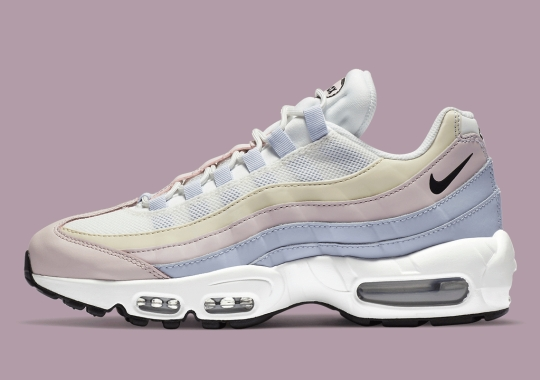 "Nike Applies Soft Pastels To The Women's Air Max 95 ""Ghost"""