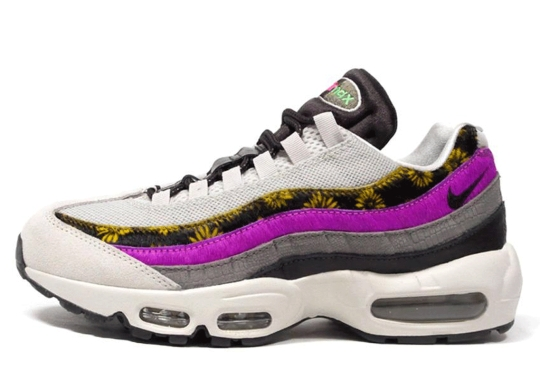 Pony Hair And Croc Skin Cover This Womens Nike Air Max 95