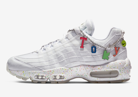 Nike Adds A Tokyo Charm To This Women's Air Max 95