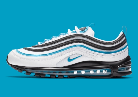 "The Nike Air Max 97 Adapts The Famed ""Laser Blue"" Colorway"