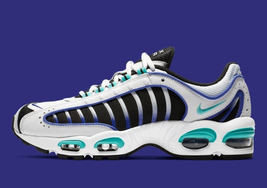The Nike Air Max Tailwind IV Dresses Up In Summer-Ready Emerald And Purple