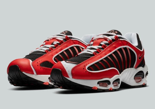 The Nike Air Max Tailwind IV Gets A Racy Black And Red Colorway