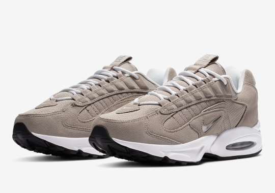 The Nike Air Max Triax 96 Arrives In A Simple Grey Suede