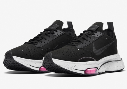 The Nike Zoom Type Emerges In Black And Brilliant Pink