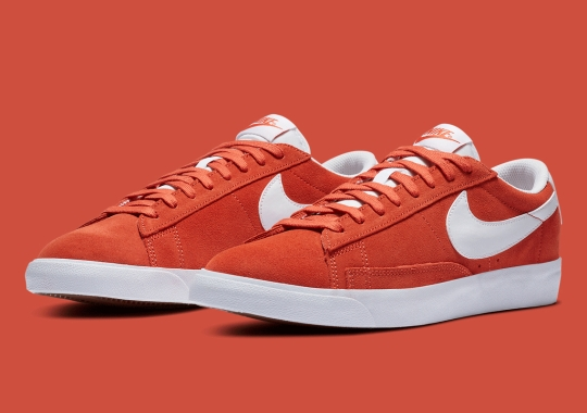 """The Nike Blazer Low """"Mantra Orange"""" Is Available Now"""