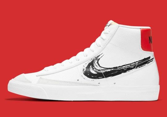 """The Nike Blazer Mid '77 Joins The """"Brushstroke"""" Pack"""