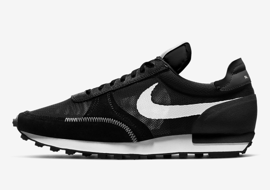 The Nike Daybreak Type Appears In A Sharp Black And White Mix
