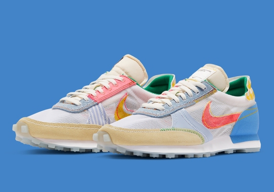 """A """"What The"""" Style Mash-Up Of Summer Fabrics Appear On The Nike Daybreak Type"""