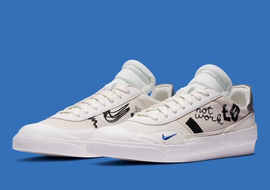 The Nike Drop Type LX Adds Hand-Drawn Motifs To Its Upper