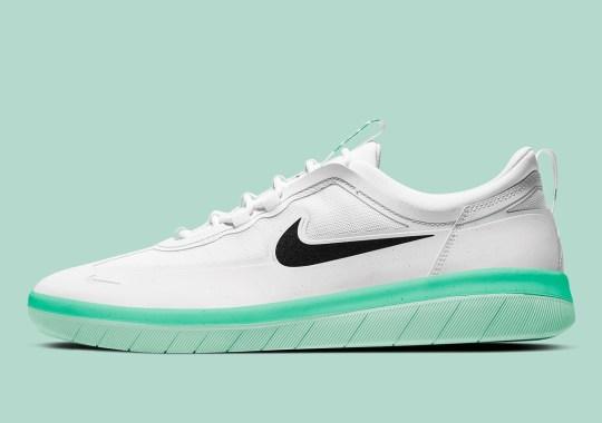 "Nike SB Nyjah Free 2 Gets A ""Green Glow"" Midsole"