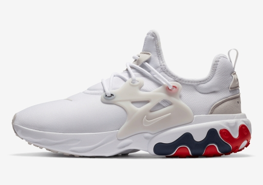 The Nike React Presto Appears In a USA-Friendly Colorway