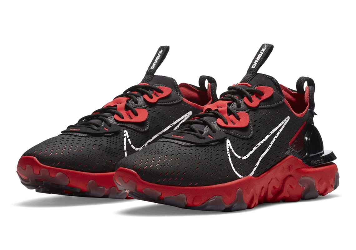 Nike React Vision Bred Black Red Release Date   Pochta