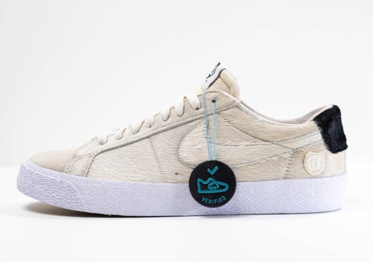 First Look At The MEDICOM TOY x Nike SB Blazer Low Sample