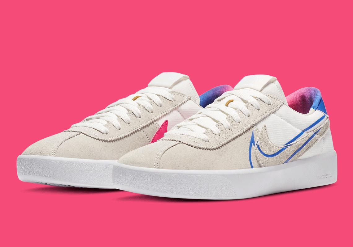 luego Normalmente Musgo  Nike SB React Bruin Pink Racer Blue CV5980-100 | SneakerNews.com