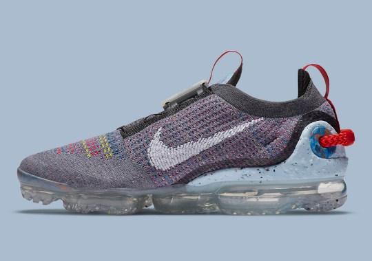 "The Nike Vapormax Flyknit 2020 ""Smoke Grey"" Features Crater Foam Heels"