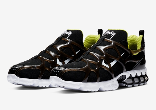 Official Images Of The Stussy x Nike Zoom Spiridon Kukini Cage 2
