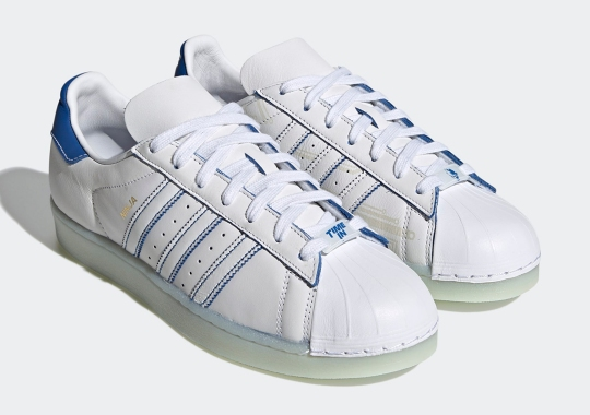 Ninja Accents The adidas Superstar With His Signature Color