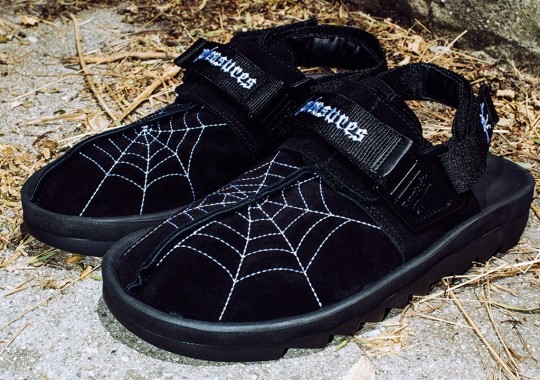 PLEASURES Dresses Up The Reebok Beatnik With Spider Web Embroidery